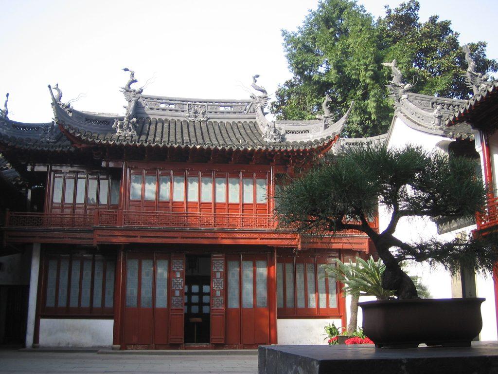 Jardin et temples Yu_Garden