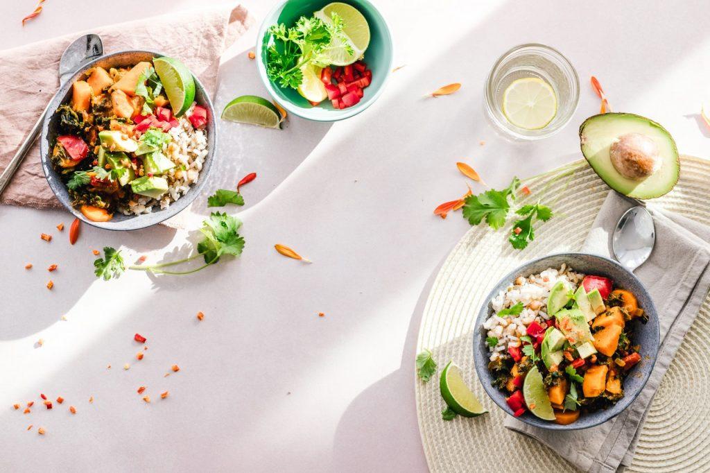 Jolies assiettes, rééquilibrage alimentaire salade, légume